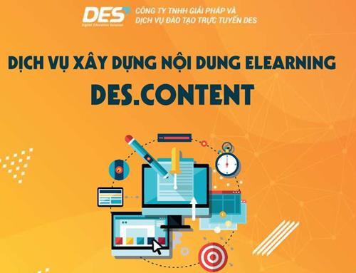 Dịch vụ sản xuất nội dung DES.content